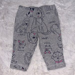 Carter's puppy pants (3 for $10)
